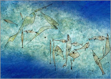 Wall Stickers  Fish image - Paul Klee