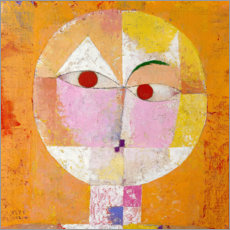 Wall sticker  Senecio (Baldgreis) - Paul Klee