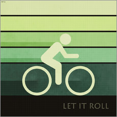 Wall sticker  Let It Roll - Phil Perkins