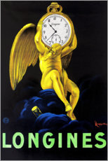 Premium poster  Longinus watches - Leonetto Cappiello