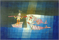 Wall Stickers  Sinbad the Sailor - Paul Klee