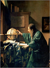 Wall sticker  The Astronomer - Jan Vermeer