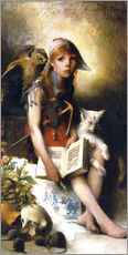 Gallery print  The witch's daughter - Carl Larsson