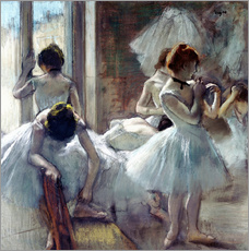 Gallery print  Group of dancers - Edgar Degas