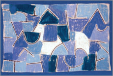 Acrylic print  Blue Night - Paul Klee