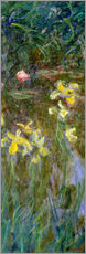 Gallery print  Daffodils in the field - Claude Monet