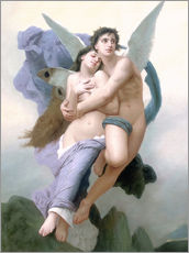 Gallery print  Abduction of Psyche - William Adolphe Bouguereau