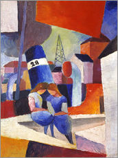 Wall sticker  Children at the docks, Duisburg - August Macke