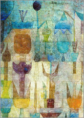 Gallery Print  Plants early in the morning - Paul Klee