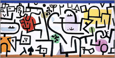 Wall sticker  Rich Harbour - Paul Klee