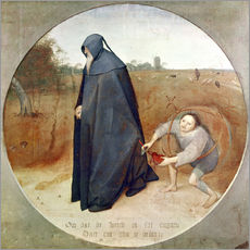 Gallery print  The Misanthrope (The perfidy of the world) - Pieter Brueghel d.Ä.