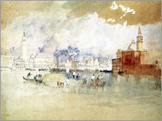 Wall sticker  Venice, seen from the lagoon - Joseph Mallord William Turner