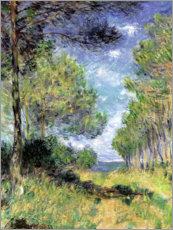 Wall sticker  Conifers in Varengeville - Claude Monet