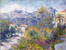 Acrylic print  Villas at Bordighera - Claude Monet