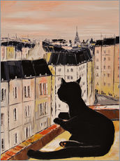 Gallery print  Tomcat in Paris - JIEL