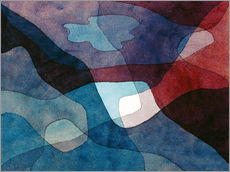Wall sticker  Mountain and Air Synthetic - Paul Klee