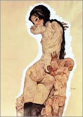 Gallery print  Mother and Child - Egon Schiele