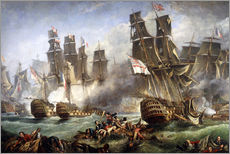 Wall sticker  The Battle of Trafalgar