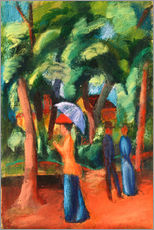 Wall sticker  Walk in the park - August Macke