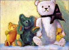 Gallery print  The bear family - Alexej von Jawlensky