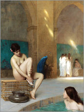 Gallery print  Women at the Roman baths - Jean Leon Gerome