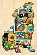 Gallery print  Pug Collage - GreenNest