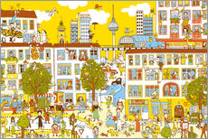 Wall Stickers  Berlin Search and Find by Judith Drews - Judith Drews