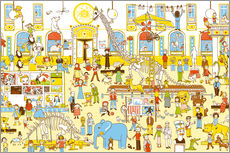 Wall sticker  Hidden objects - In the natural history museum - Judith Drews