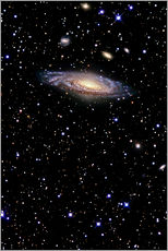Wall sticker Spiral galaxy in the constellation Pegasus