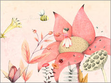 Wall sticker  Thumbelina I - Judith Loske