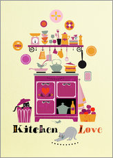 Wall sticker Kitchen Love