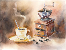 Gallery print  The smell of coffee - Jitka Krause