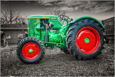 Wall sticker  Deutz tractor Oldtimer - Peter Roder