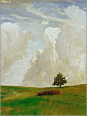 Gallery print  Mountains of clouds - Otto Modersohn