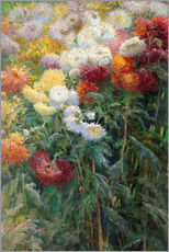 Wall sticker  Chrysanthemums - Gustave Caillebotte