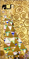 Gallery print  The Tree of Life (The Expectation) - Gustav Klimt