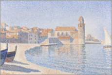 Wall sticker  View of Collioure - Paul Signac