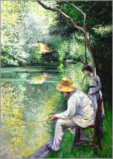 Wall sticker  Angler - Gustave Caillebotte