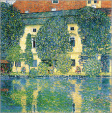 Acrylic print  Schloss Kammer on the Attersee III - Gustav Klimt