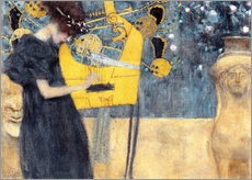 Gallery print  The music - Gustav Klimt