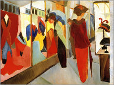 Gallery Print  Fashion Store - August Macke