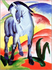 Canvas print  Blue horse I - Franz Marc