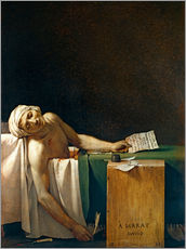 Wall sticker  The Death of Marat - Jacques-Louis David
