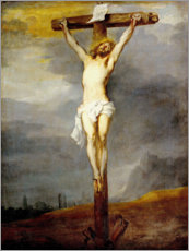 Acrylic print  Chris on the cross - Anthonis van Dyck