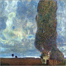 Wall Stickers  The Large Poplar II - Gustav Klimt