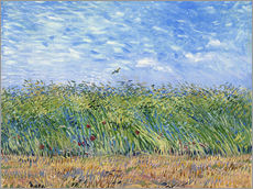 Wall sticker  Corn field with poppies and partridge - Vincent van Gogh