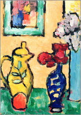 Wall sticker  Yellow Pitcher - Alexej von Jawlensky