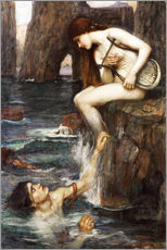 Gallery print  The Siren - John William Waterhouse