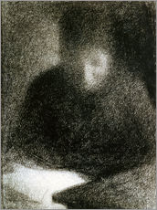 Gallery print  Reading woman - Georges Seurat