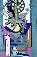 Wall sticker  Meadow Flower with cat - Ernst Ludwig Kirchner